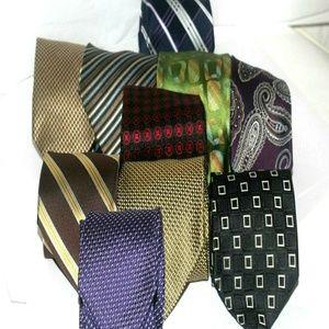 Lot of 10 modern men's Ties